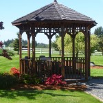 gazebo landscaping in Napavine